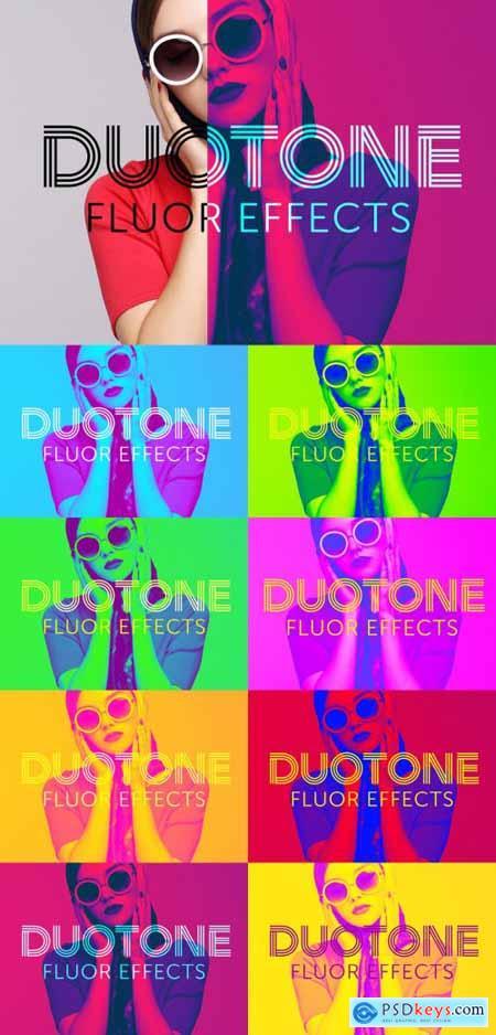 Bright Duotone Effect 351324765