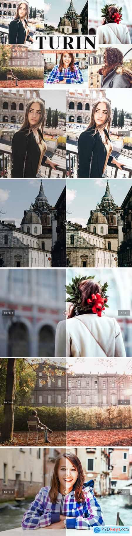 Turin Mobile & Desktop Lightroom Presets 4160165