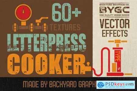 LetterPress Vector Texture Effects 3562795