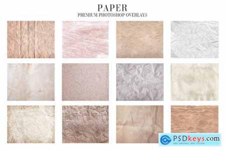 Paper Overlays Photoshop 4940116
