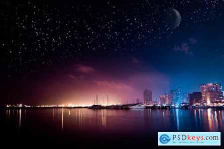 Stars Overlays Photoshop 4939984