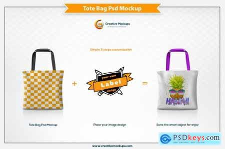 Tote Bag Mockup Template 4615232