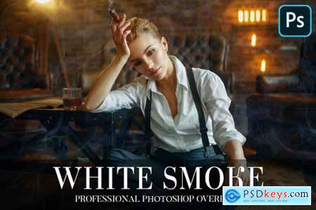 White Smoke Overlays Photoshop 4949072
