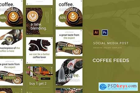 Coffee Social Media Post