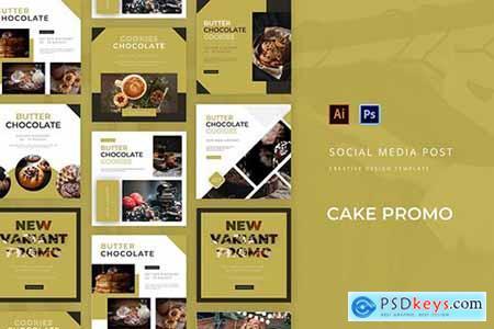 Cake Promo Social Media Post