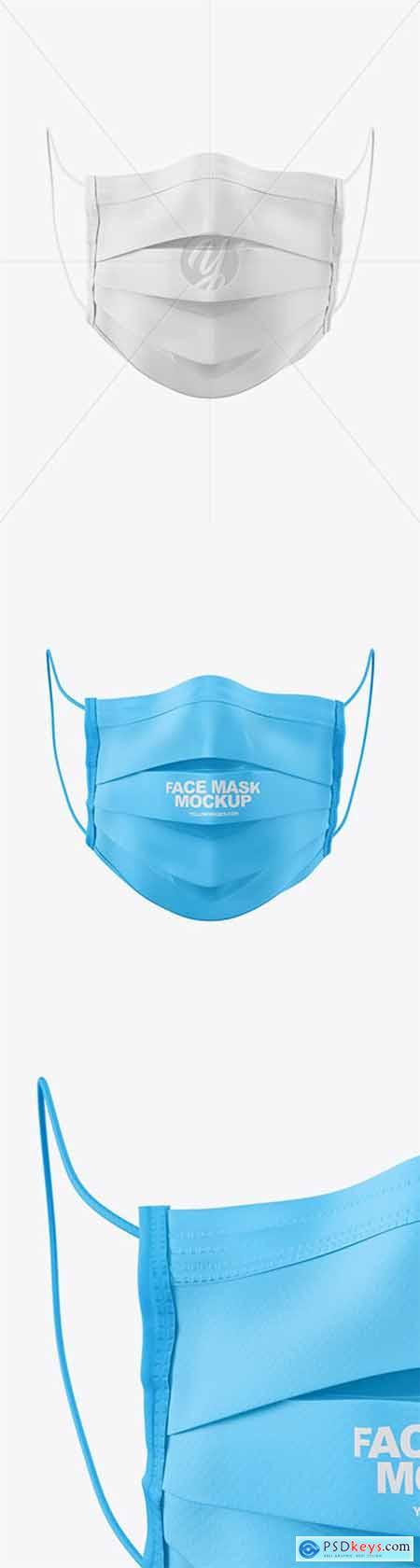 Medical Face Mask Mockup 60647