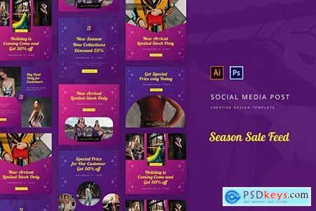 Season Sale Social Media Post