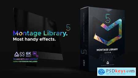 Montage Library - Most Useful Effects V5 21492033