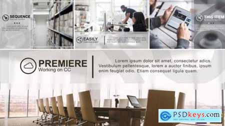 Minimal Corporate Slideshow Premiere Pro 26769293