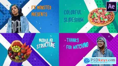 Colorful Cartoon Slideshow After Effects 26806586