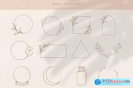 Logo Elements, Frames and Borders