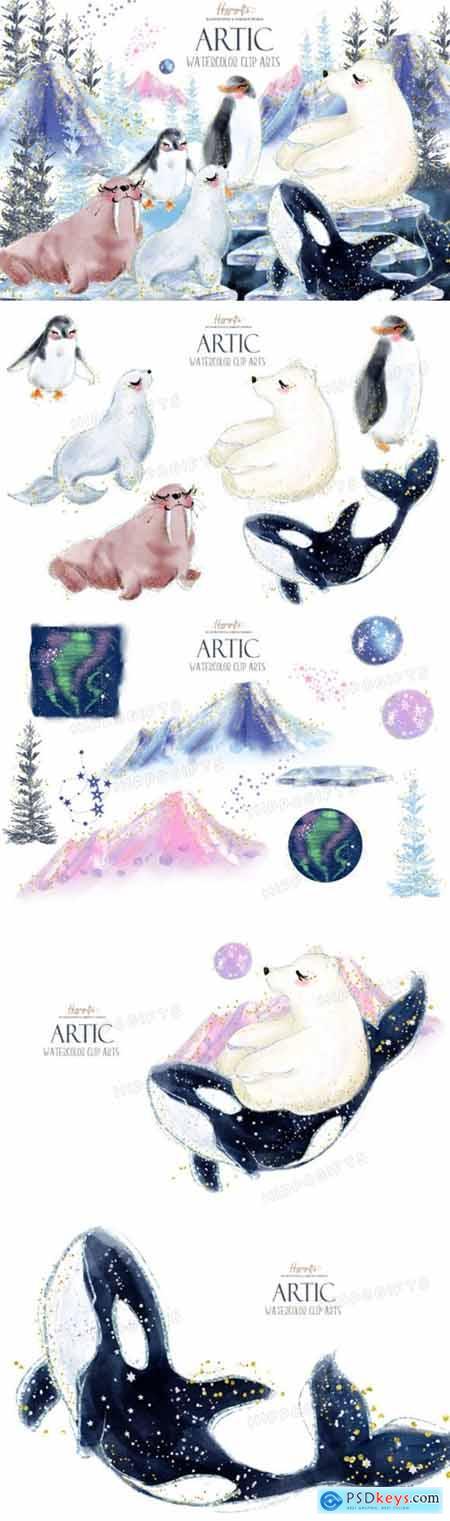 Artic Animals Clip Arts 4195955