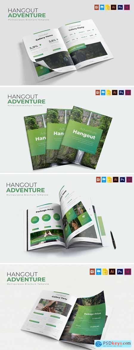 Hangout Adventure - Brochure Template