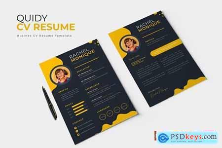 Quidy - CV & Resume