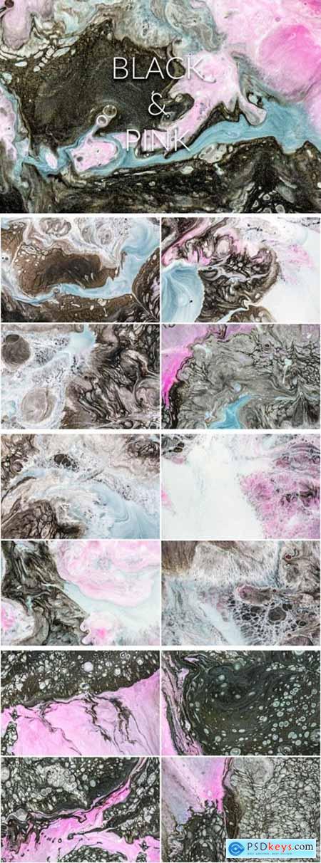 Handmade Liquid Paint - Black&Pink Vol.2 4063799