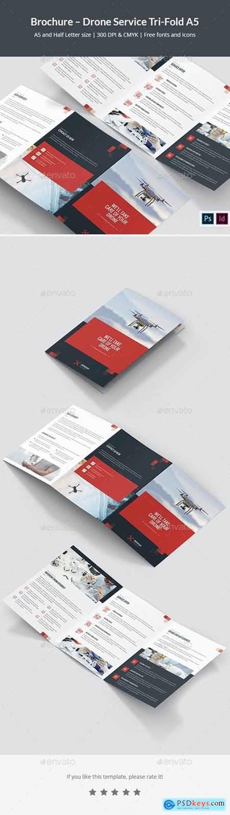 Brochure – Drone Service Tri-Fold A5 26501074
