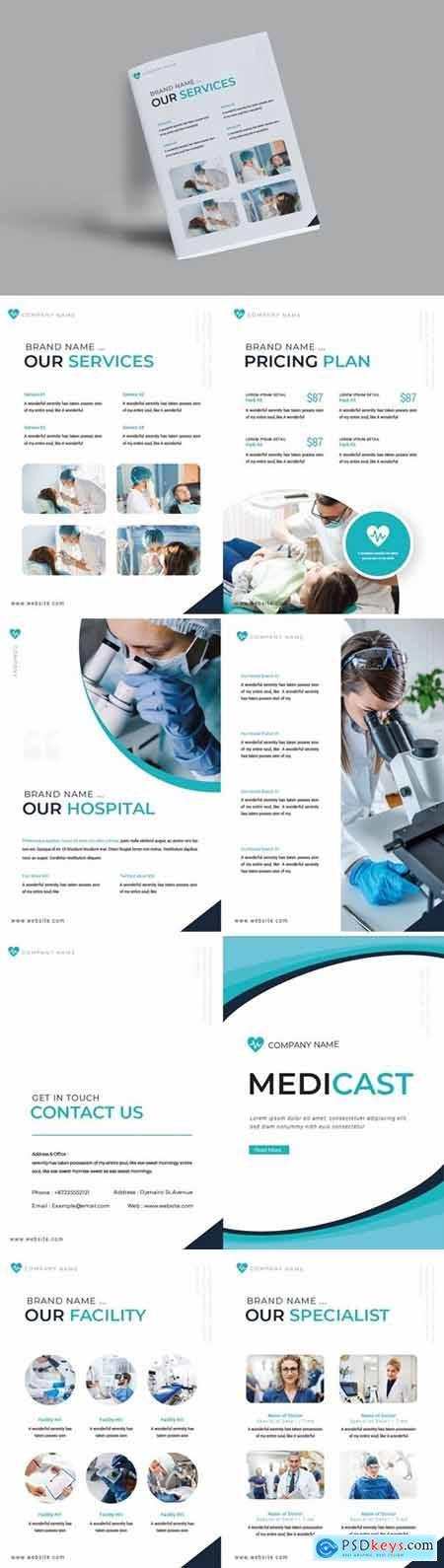 Medicast Brochure Template