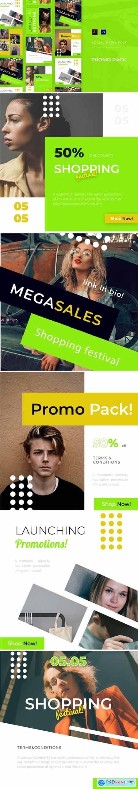 Promo Pack Social Media Post