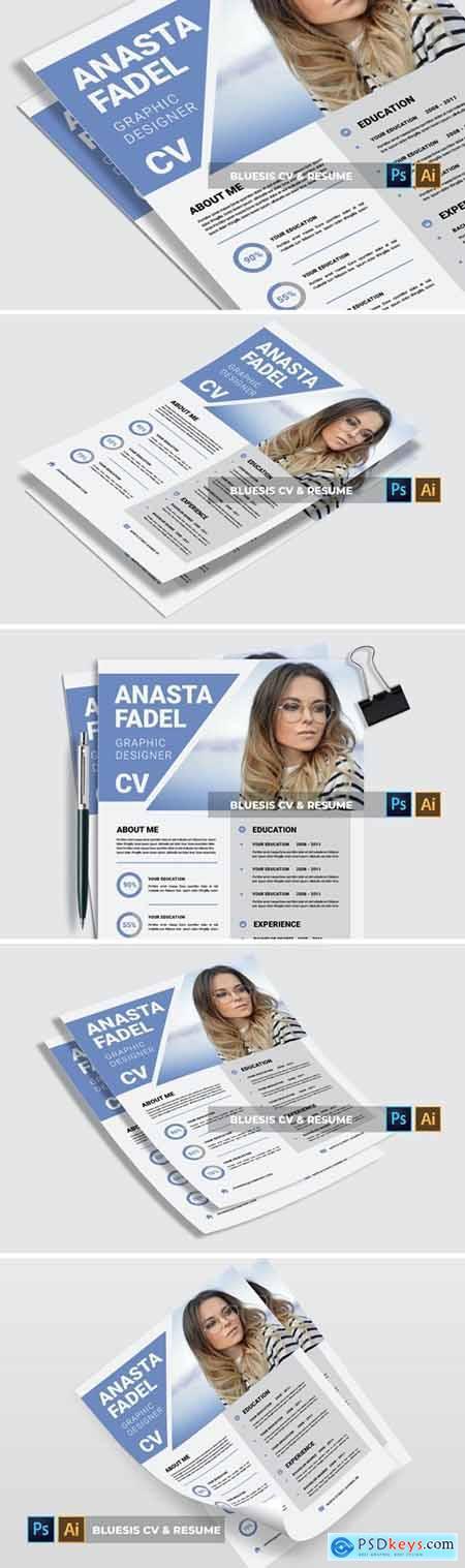 Bluesis - CV & Resume