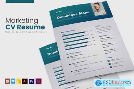 Marketing - CV & Resume