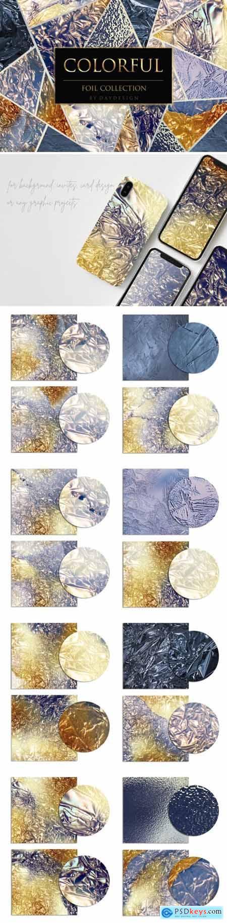 Colorful Foil Textures 4057198