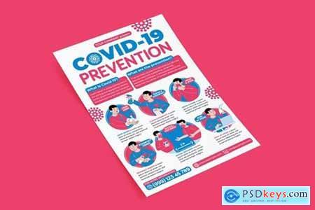 Covid-19 Prevention Flyer