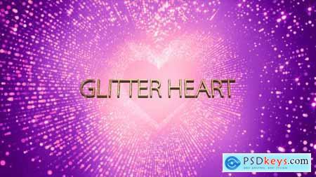 Glitter Heart 14579047