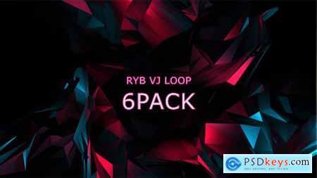 RYB color VJ Loop Vol.3 15731805