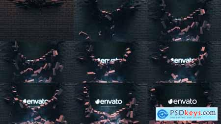 Falling Bricks Logo 26889732