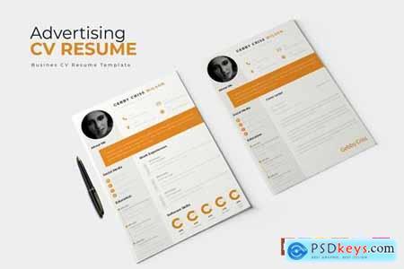 Advertising - CV & Resume