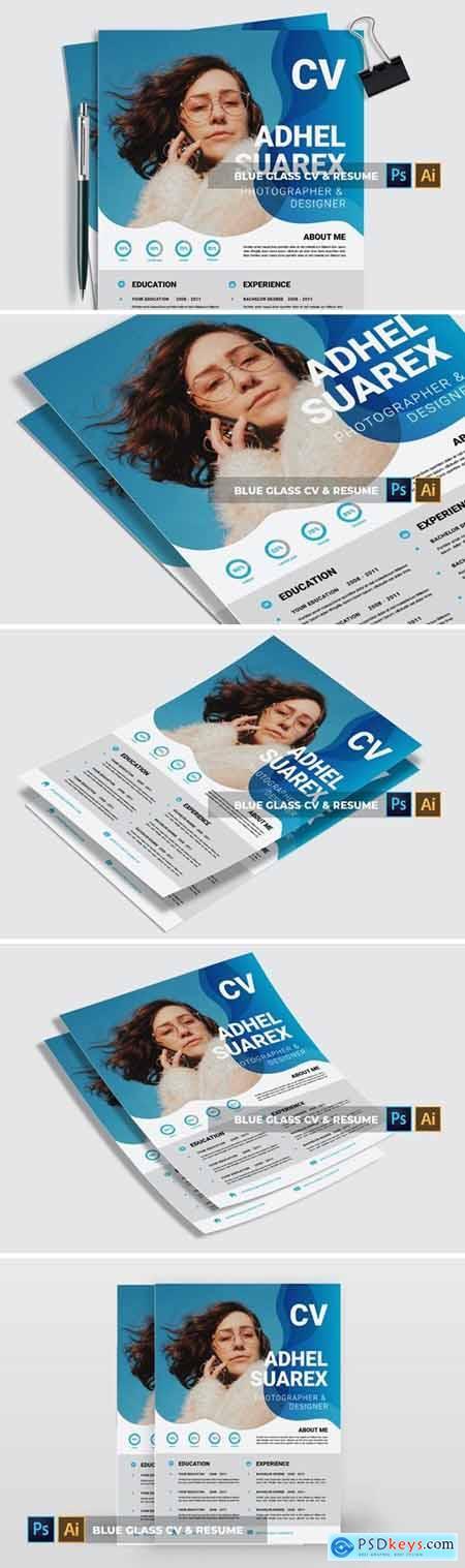 Blue Glass - CV & Resume