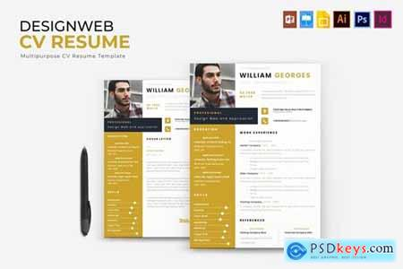 Design Web - CV & Resume