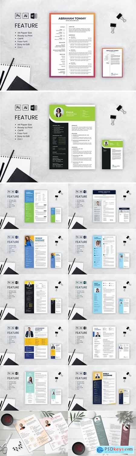 Clean CV Resume Bundle 3