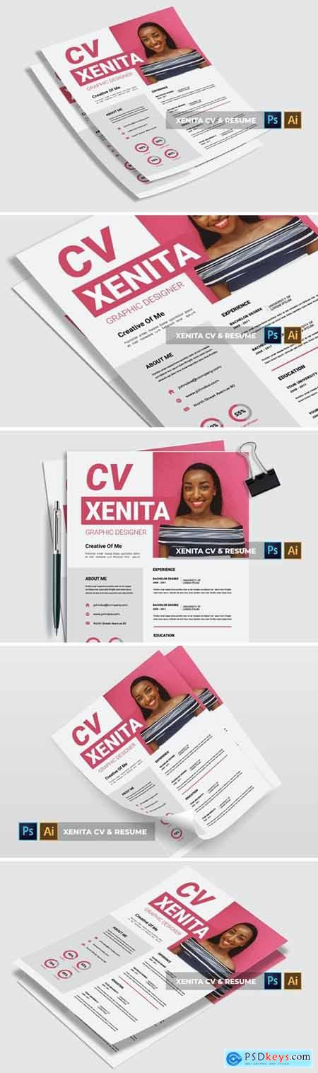 Xenita - CV & Resume