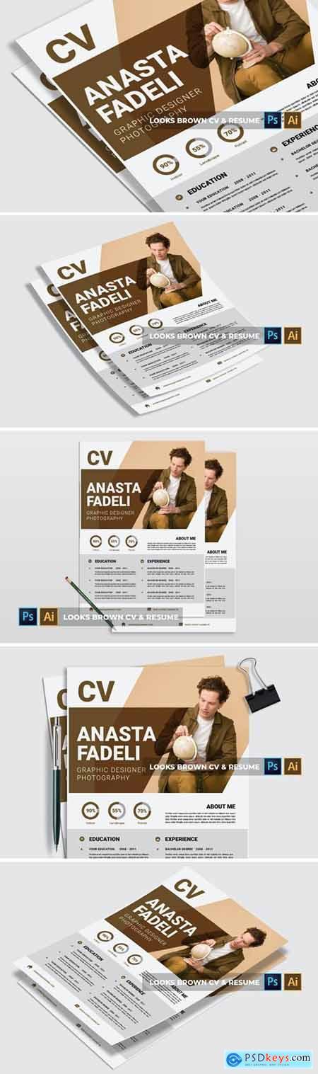 Looks Brown - CV & Resume