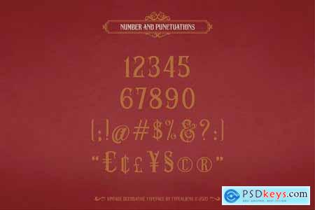 Ved Relret Stunning Display Fonts 4981737