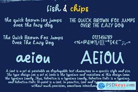 Fish and Chips Script Font