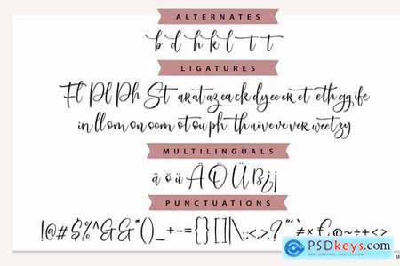 SweetServe Modern Calligraphy Font 4783255