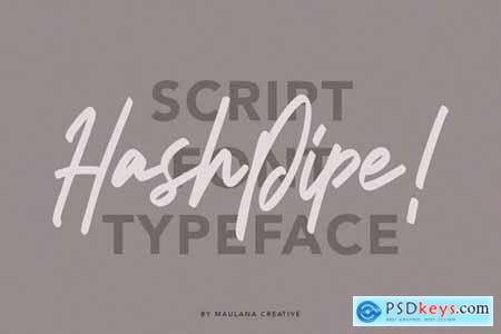 Asiatropic Script Font