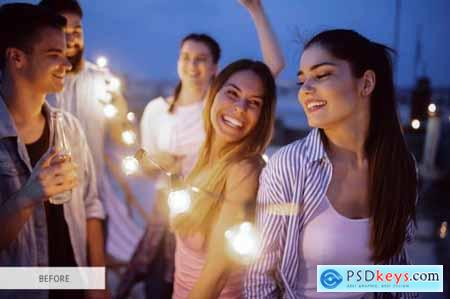 Party Bokeh Overlays Photoshop 4934875