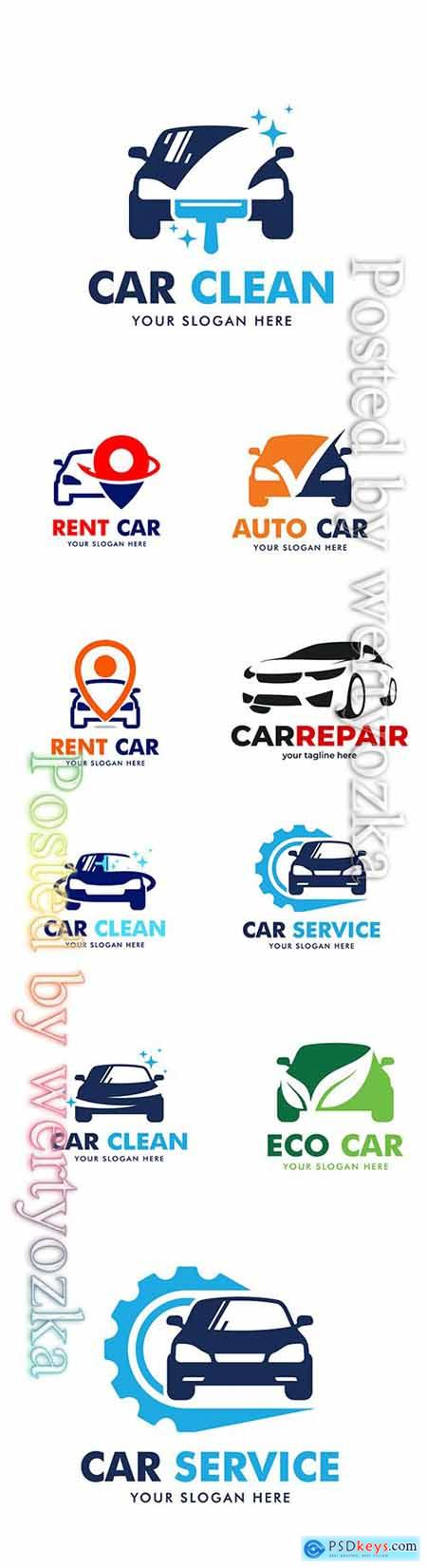 Car logo collection vector illustration