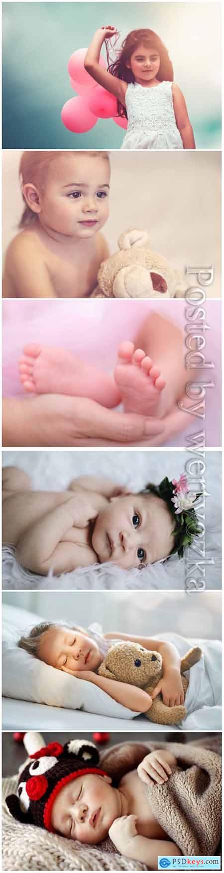 Child beautiful stock photo