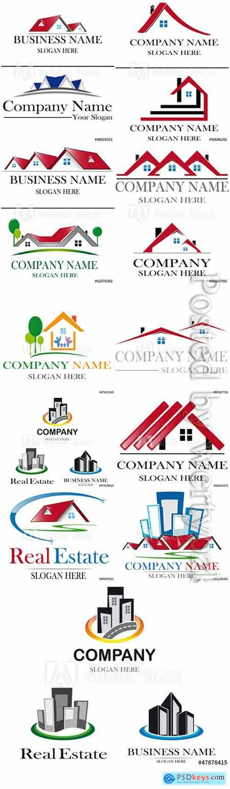 Project house vector logo design