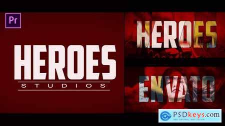 Heroes Logo Intro 24221834
