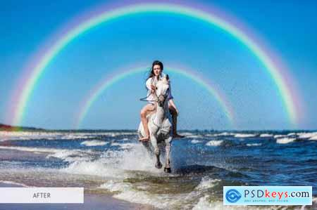 Rainbow Overlays Photoshop 4940455