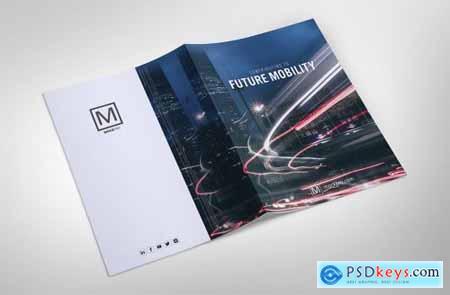 Sharp Modern Brochure and PowerPoint 4840246