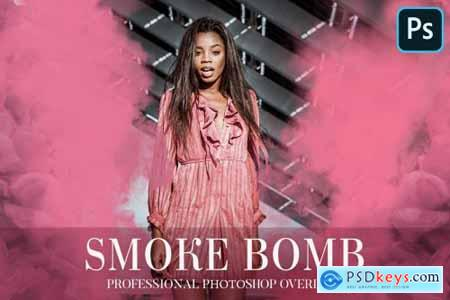 Smoke Bomb Overlays Photoshop 4940685
