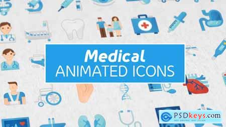 36 Medical Animated Icons 25356975
