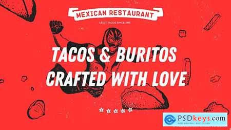 Mexican Restaurant - Promotion 21579716