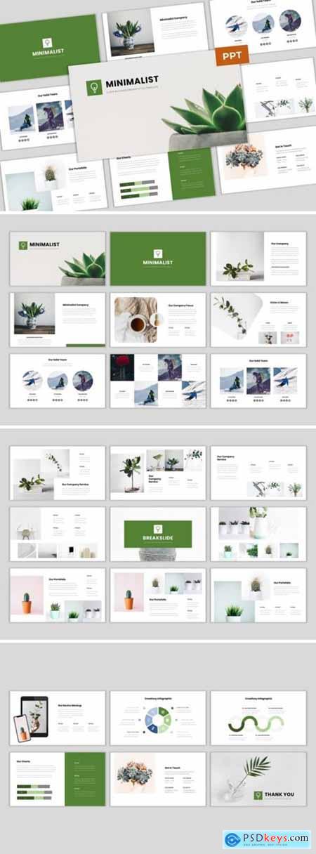 Minimalist - Clean Business Presentation 4209870
